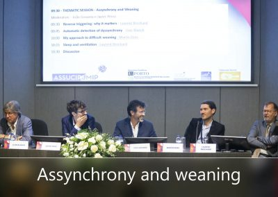 Assynchrony and weaning