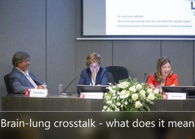 Brain-lung crosstalk