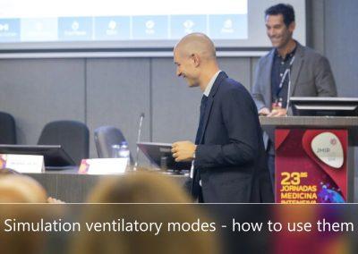Simulation ventilatory modes
